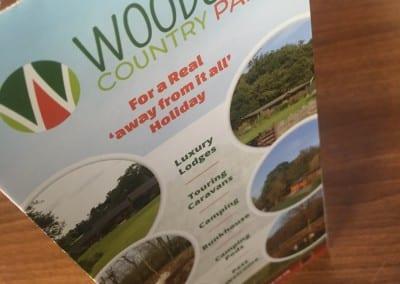 Woodside Lodges Country Park Leaflet