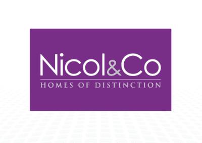 Homes of Distinction logo design