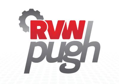 RVW Pugh logo design
