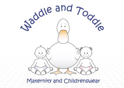Waddle & Toddle Logo design