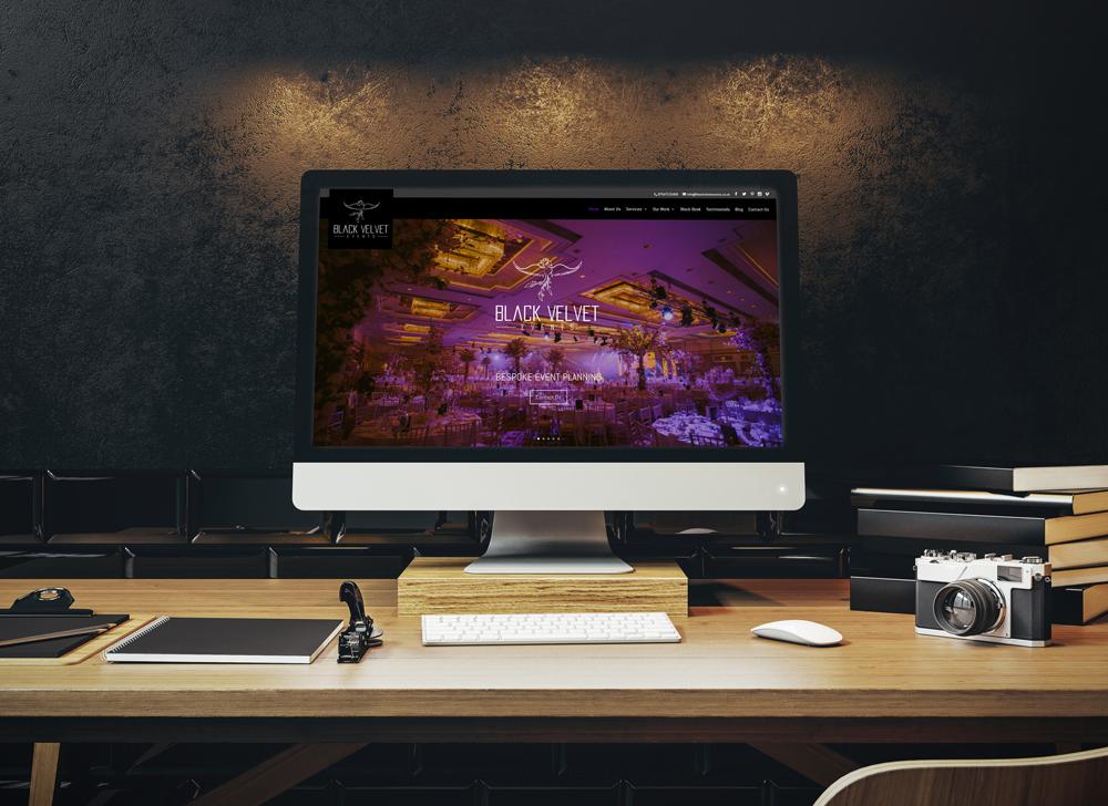 Black Velvet Events Website