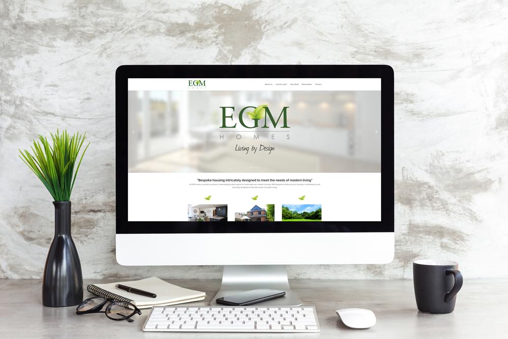 EGM Homes Website