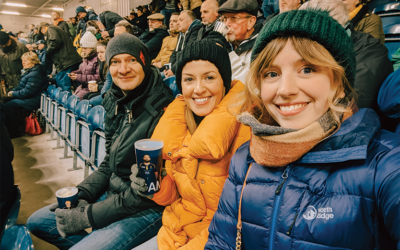 The One Where We Went To A Worcester Warriors Game!